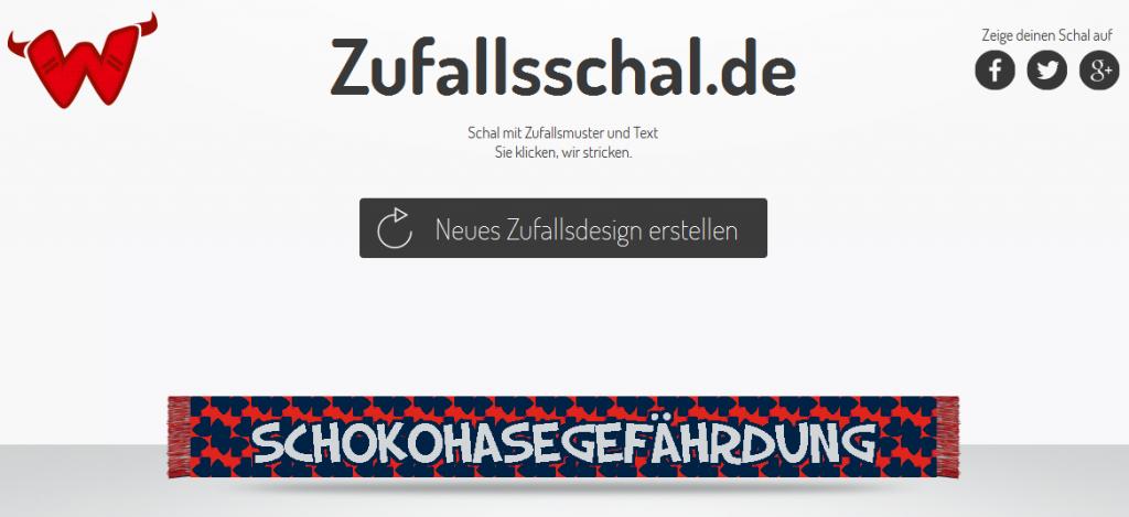 Zufallsschal.de