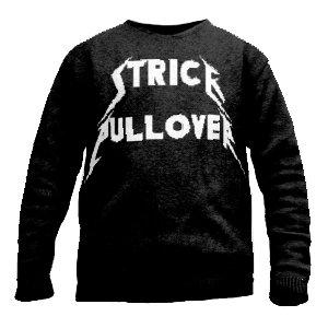 Metallica Strickpullover