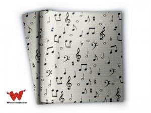Decke mit Musik