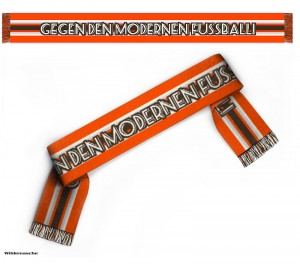 Schal gegen modernen Fußball
