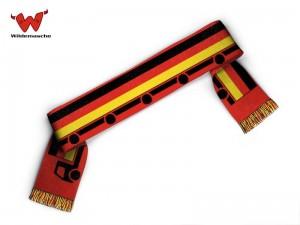 LKW Schal schwarz rot gold