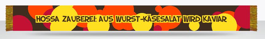 Fanschal Wurst